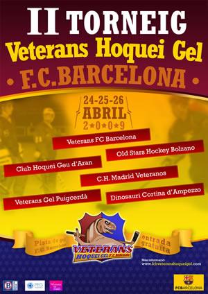 II Torneig Veterans Hoquei Gel Fútbol Club Barcelona